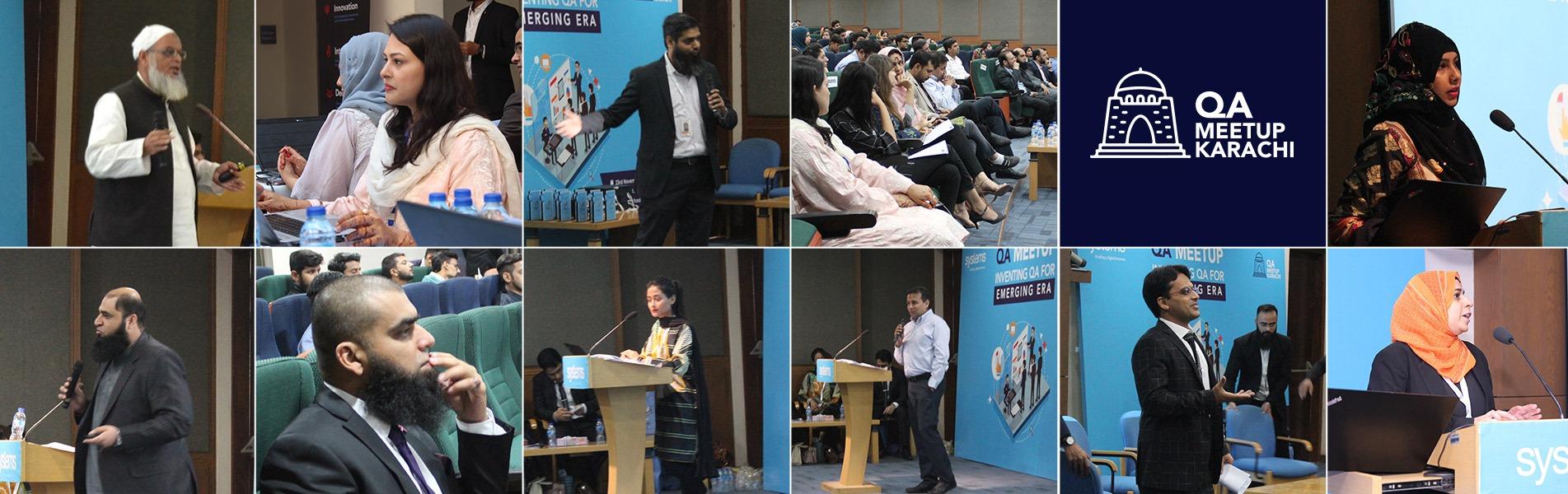 QA Meetup Karachi