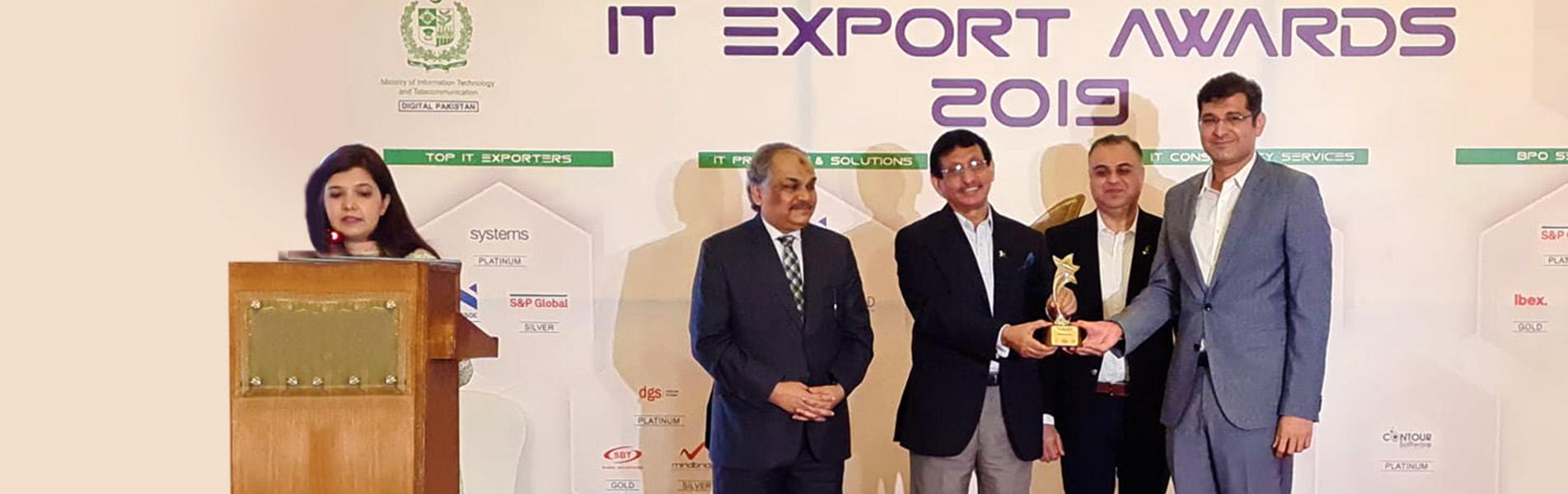 PSEB IT Export Award