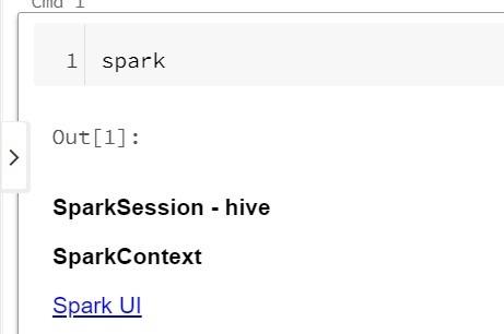 SparkSession found as Spark in Databricks notebook